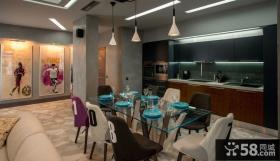 时尚质感住宅餐厅设计