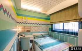 美式简约儿童房室内装修图片