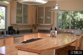 厨房装修效果图 美式乡村风格厨房装修图片