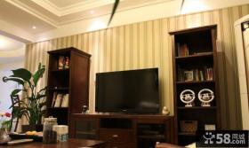 简装客厅电视背景墙装修图