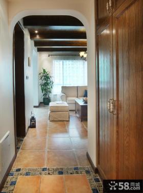 走廊过道玄关装修案例