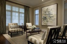 欧式装修图 2012欧式装修风格 客厅图片