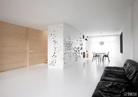 客厅餐厅一体装修设计效果图片欣赏