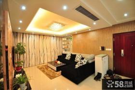 田园风格小户型家装室内设计效果图