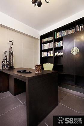 现代家居办公室书房装修