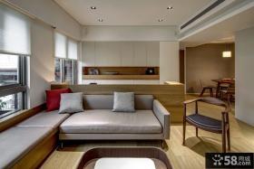 简约风格公寓室内装修设计图片欣赏