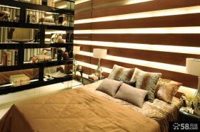 家装卧室床头背景墙设计效果图
