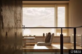 现代室内别墅阳台榻榻米设计图片