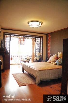 中式风格家庭装修设计餐厅效果图