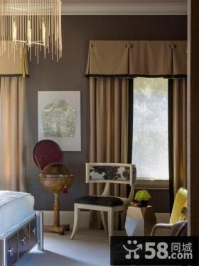 古典奢华的欧式风格卧室装修效果图大全2014图片