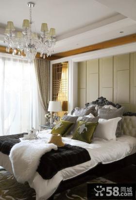 欧式风格豪华卧室设计图