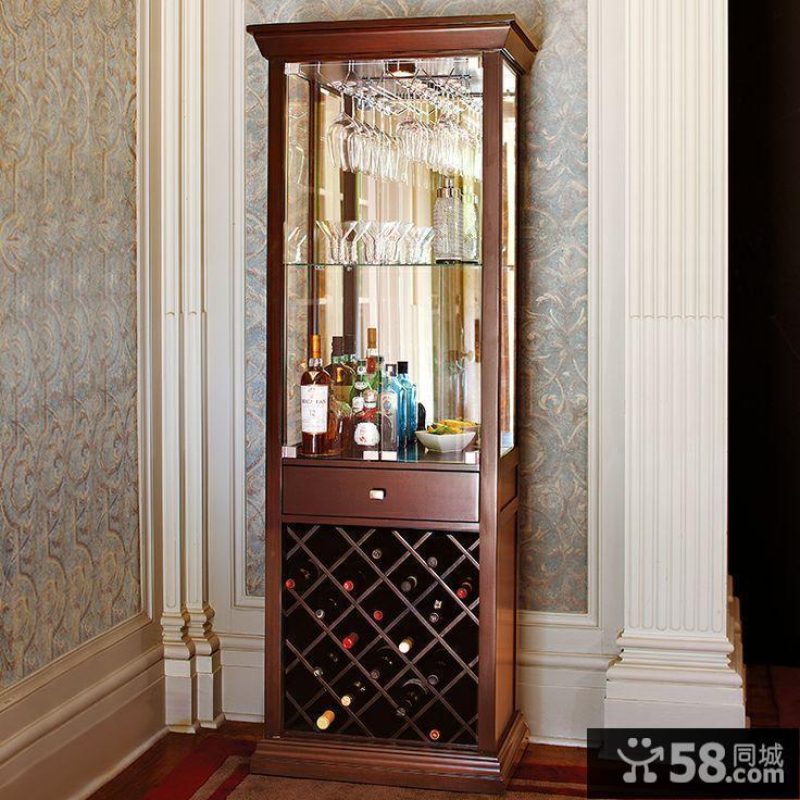 美式酒柜装修效果图图片