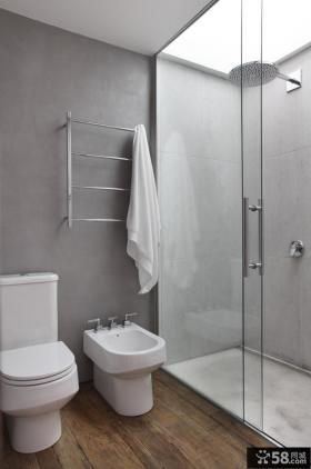 巴西清爽复式公寓厕所装修效果图