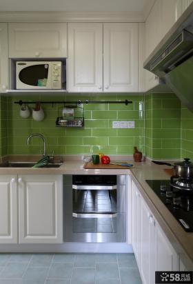 家装整体厨房橱柜效果图