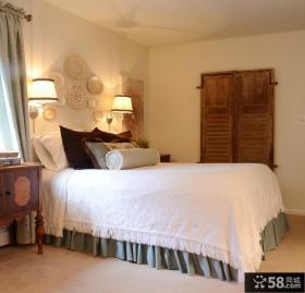 欧式简约卧室装修效果图大全2012图片 小卧室装修图片