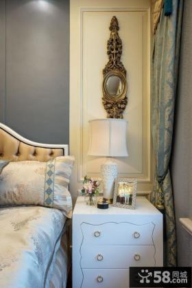 欧式风格卧室灯具图片欣赏