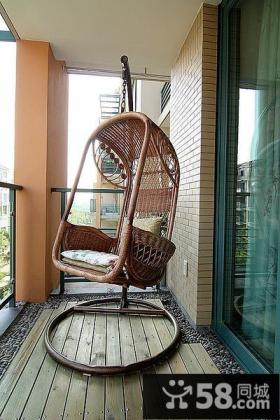 休闲家居装修阳台设计