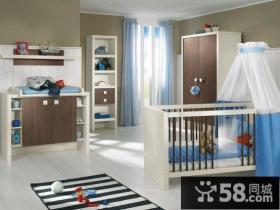 0-3岁宝宝儿童房装修效果图大全2014图片