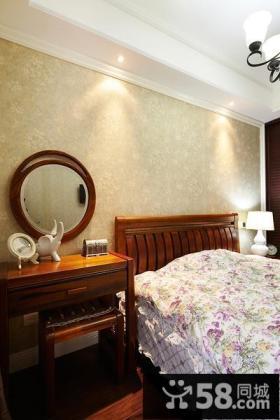 时尚美式卧室局部装修案例