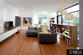 三室两厅两卫客厅整体装修效果图
