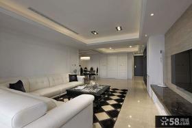 优质新古典风格客厅吊顶装修效果图大全