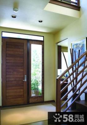 楼梯玄关设计效果图欣赏