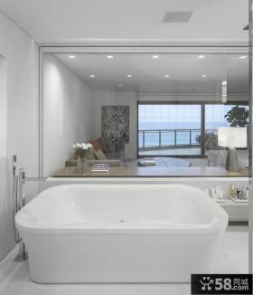 明亮大气浴室设计