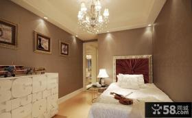 家装样板房卧室图片