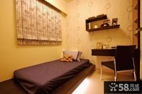 小空间卧室榻榻米床装修效果图片