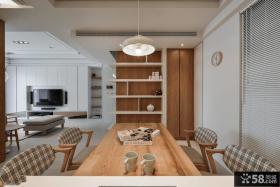 宜家室内餐厅吊顶设计图片2014
