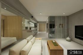 现代时尚设计130平米四室两厅效果图