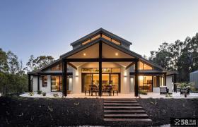 现代豪华别墅外观设计