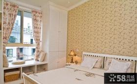田园卧室飘窗装修效果图