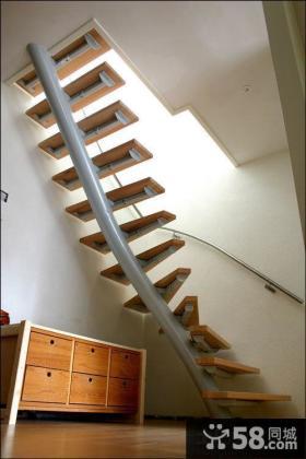 阁楼楼梯设计效果图大全