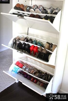 进门鞋柜设计效果图