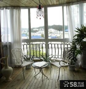 家庭装修小阳台图片大全欣赏
