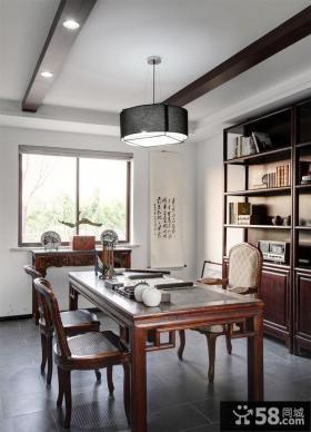 最新中式家居古典书房装修