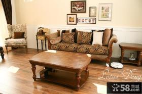 美式风格客厅家具图片