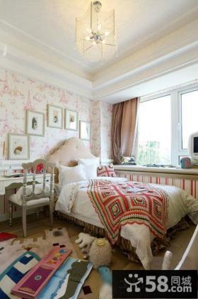 10平米欧式古典风格儿童房装修图片2014