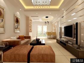 客厅电视背景墙设计图2013年