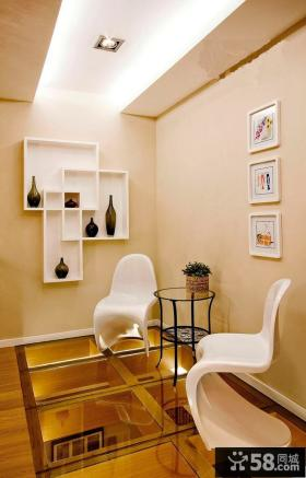 时尚现代风格家居休闲区装修效果图