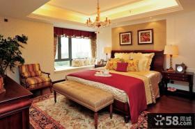 欧式卧室飘窗设计图