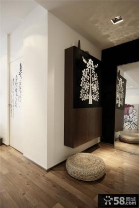 日式家庭设计玄关效果图大全