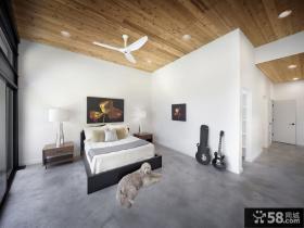 简约复式阁楼卧室效果图