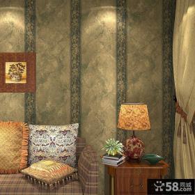 家居卧室欧美壁纸效果图