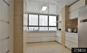 现代简约风格厨房效果图片欣赏