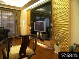 100平米现代风格三居室效果图片