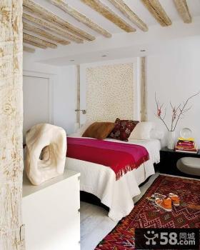 80平小户型现代温馨卧室装修效果图欣赏