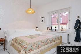 小户型卧室装修效果图大全2014图片 卧室窗台装饰图片