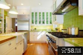 8万打造90平米田园厨房装修效果图大全2013图片